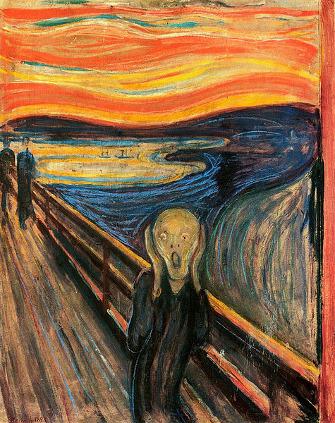 The Scream, painting by Edvard Munch